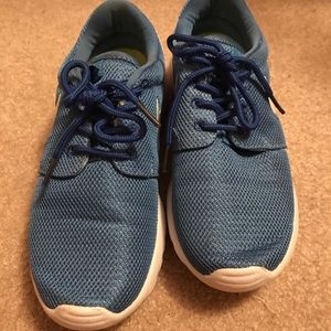 Blue Nike Shoes boys/girls size 3